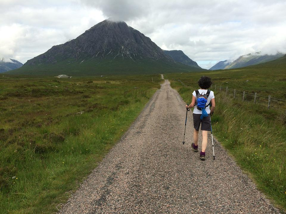 Walking, Scotland, Glencoe, Mountain, Highlands, Scenic