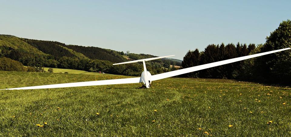 Glider, Landscape, Aircraft, Air Sports, Glide, Air