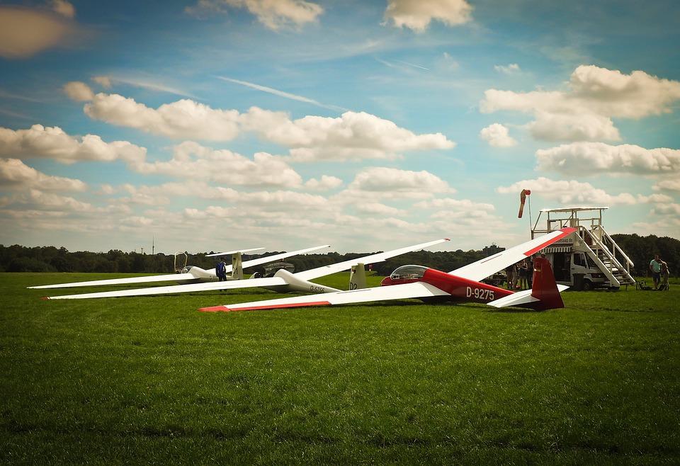 Glider, Fly, Aircraft, Segelflugsport, Glider Pilot