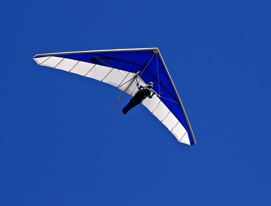 Glider, Hang-glider, Pilot, Flying, Gliding