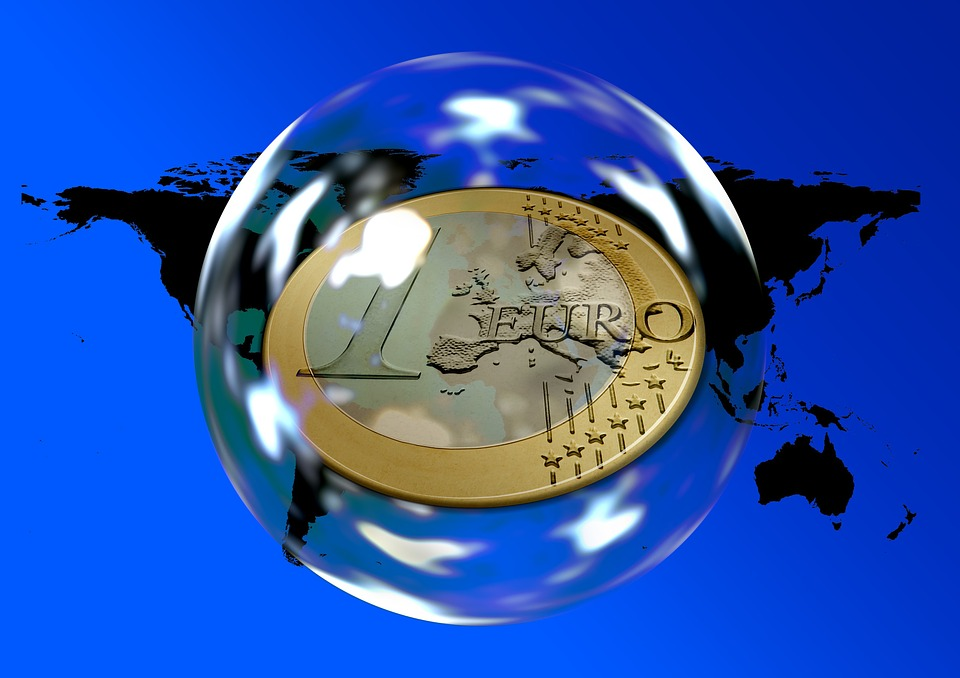 Euro, Money, Currency, World, Global, Soap Bubble