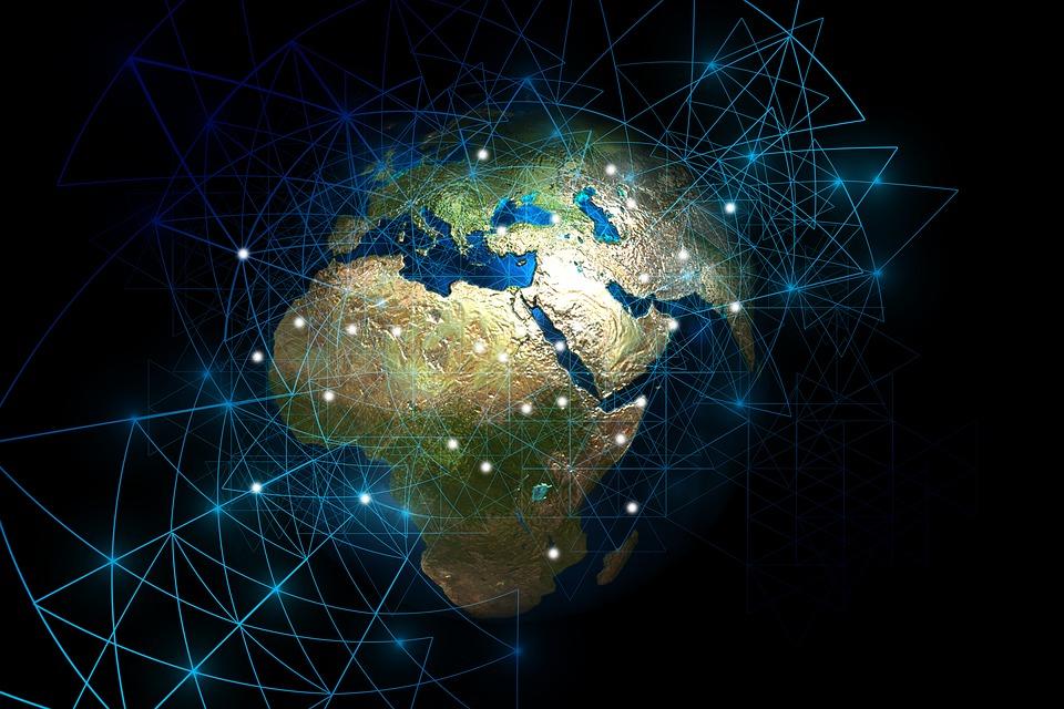 Web, Network, Globe, Continents, Computer, Digital