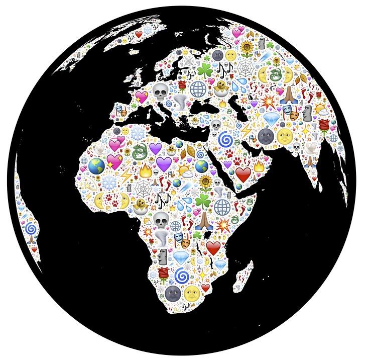 Globe, Earth, Emoji, Magical, Mystical, World, Planet