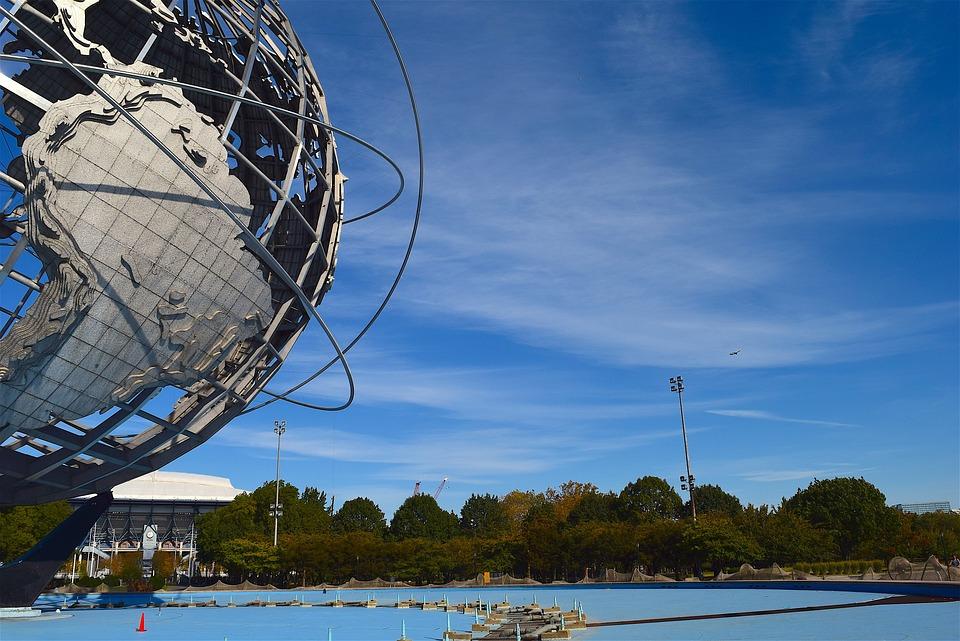 Globe, Sculpture, Park, Metal, Earth, World, Sphere