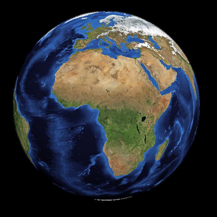 Earth, World, Planet, Globe, Blue Planet, Map, Land