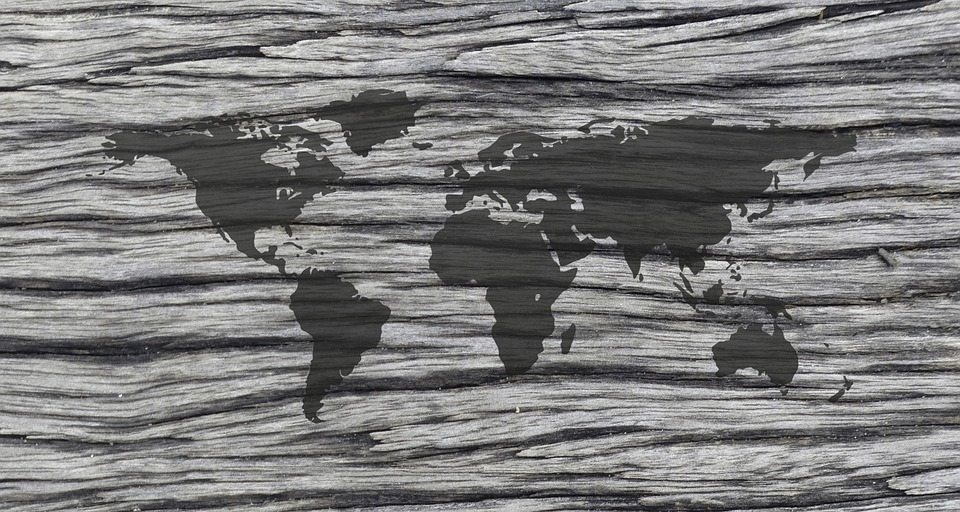 World, Map, Globe, Pattern, Texture, Template, Abstract