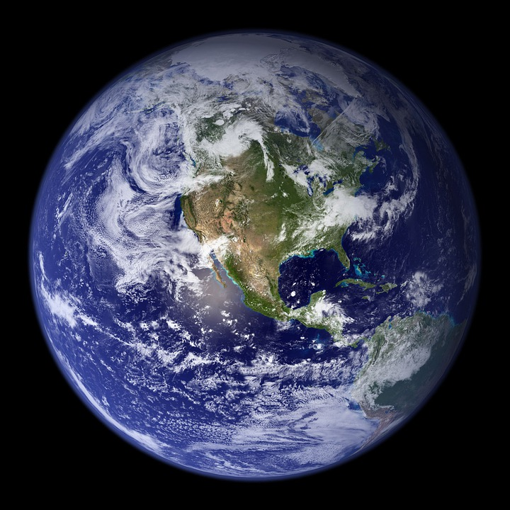 Earth, Blue Planet, Globe, Planet, Space, Universe
