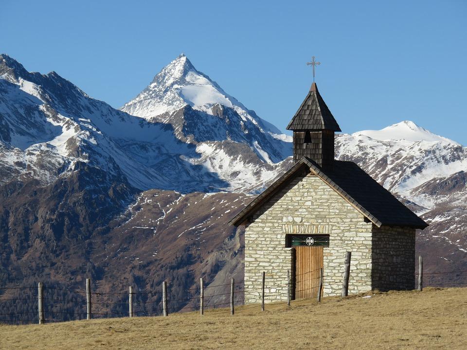 Chapel, Grossglockner, View, Glockner View, Nature