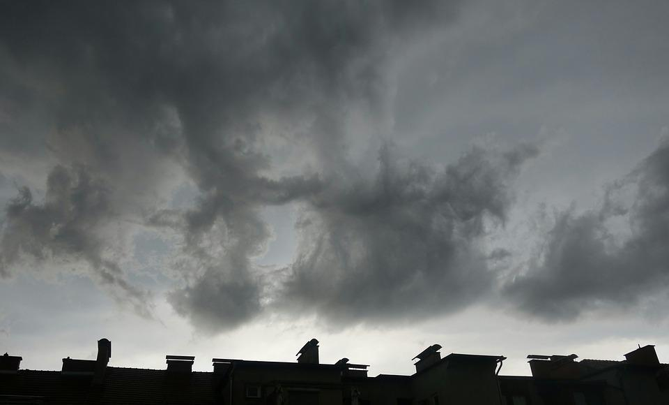 Thunderstorm, Clouds, Gloomy, Threatening