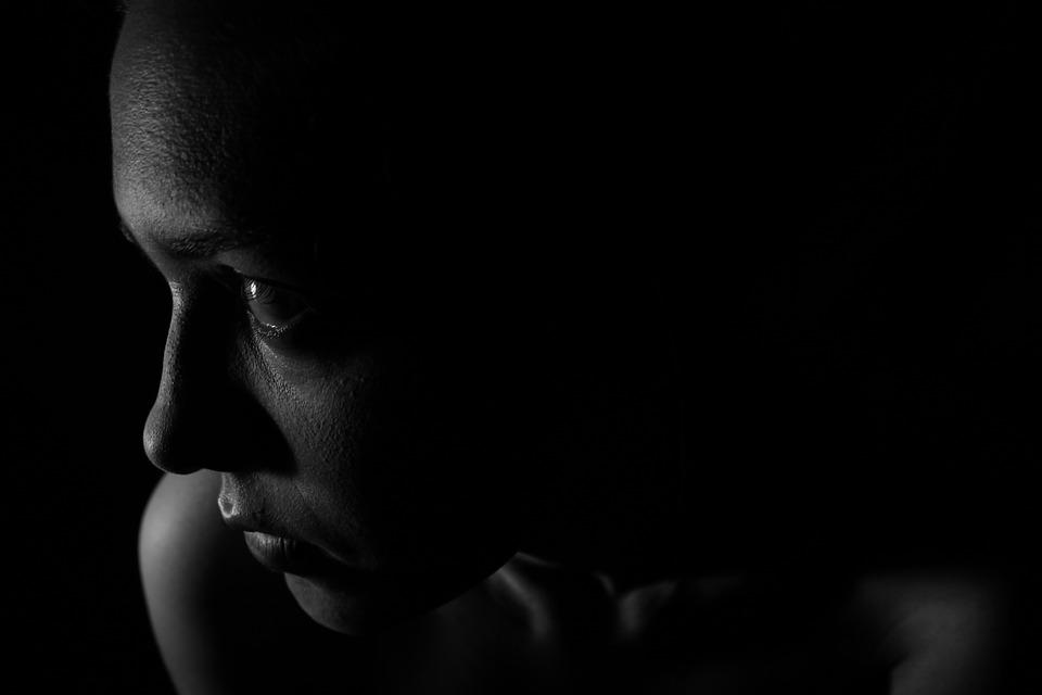 Dark, Face, Girl, Person, Woman, Sad, Desperate, Gloomy