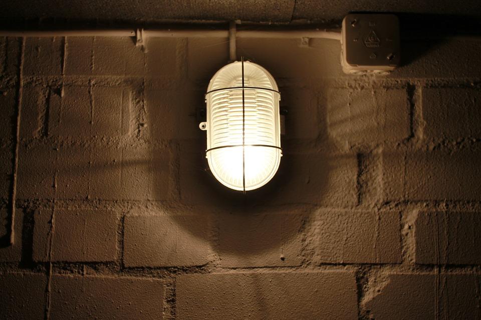 Cellar Lamp, Masonry, Keller, Gloomy, Vaulted Cellar