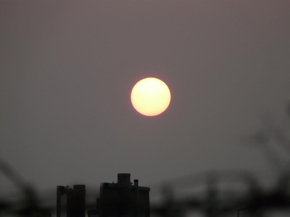 Sun, Pale, Gloomy, Mood, End Of The World, Grey, Trist