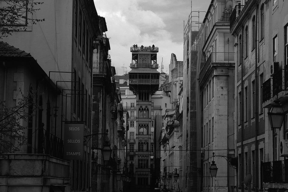 Portugal, Lisbon, Monument, Elevator, Gloria