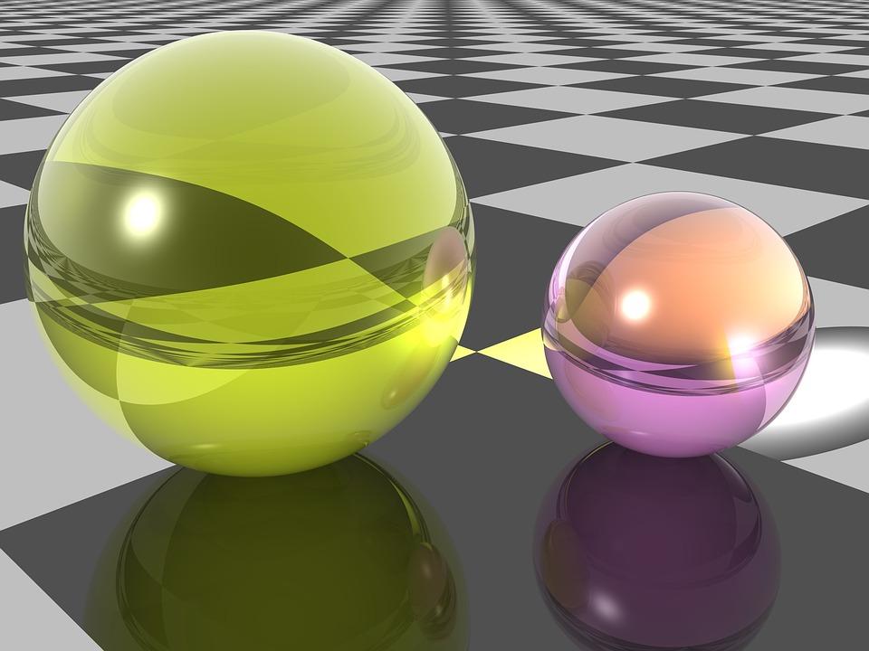 Sphere, Marble, Glass, Balls, Gloss, Reflective, Globe