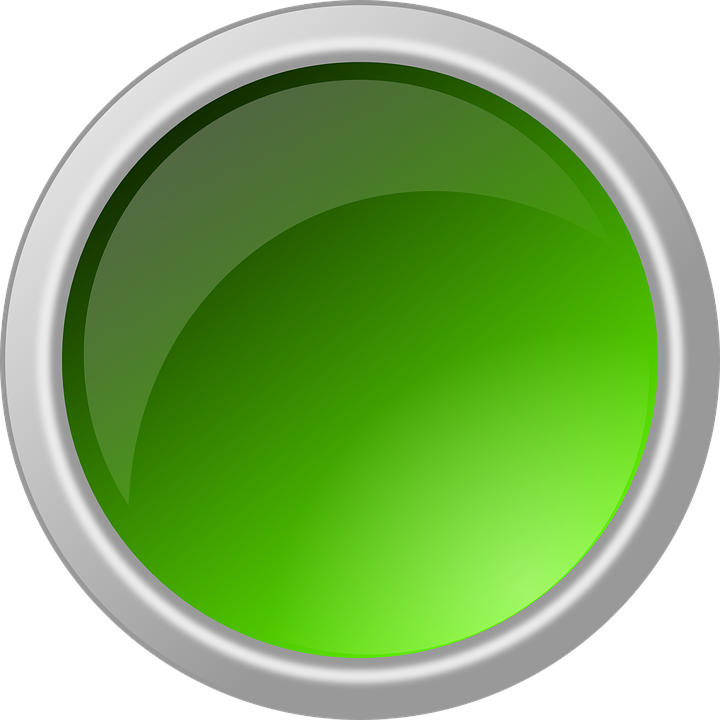 Button, Glossy, Round, Circle, Green, Green Circle