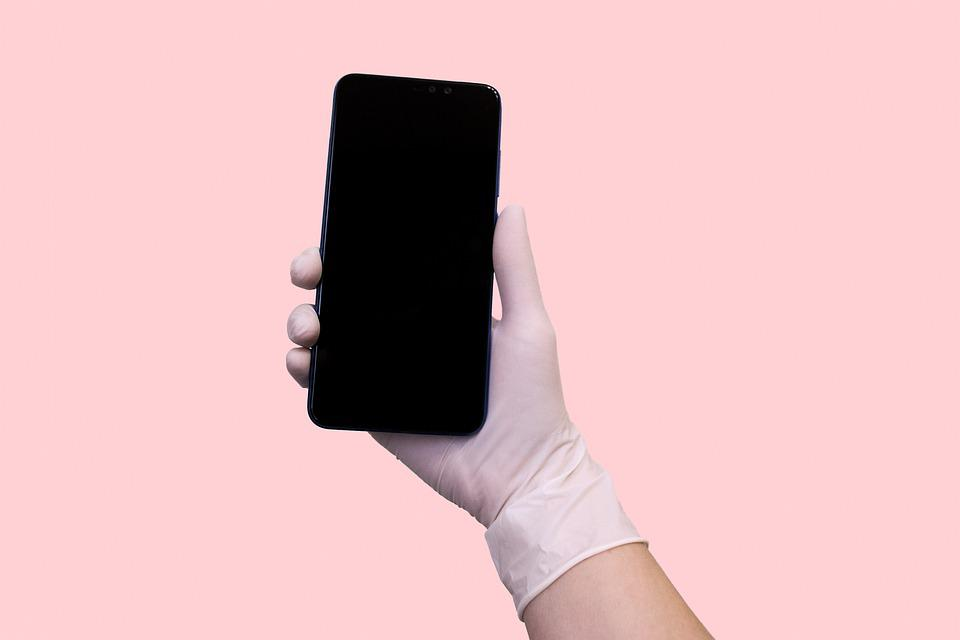 Smartphone, Hand, Medicine, Medical, Mobile, Glove
