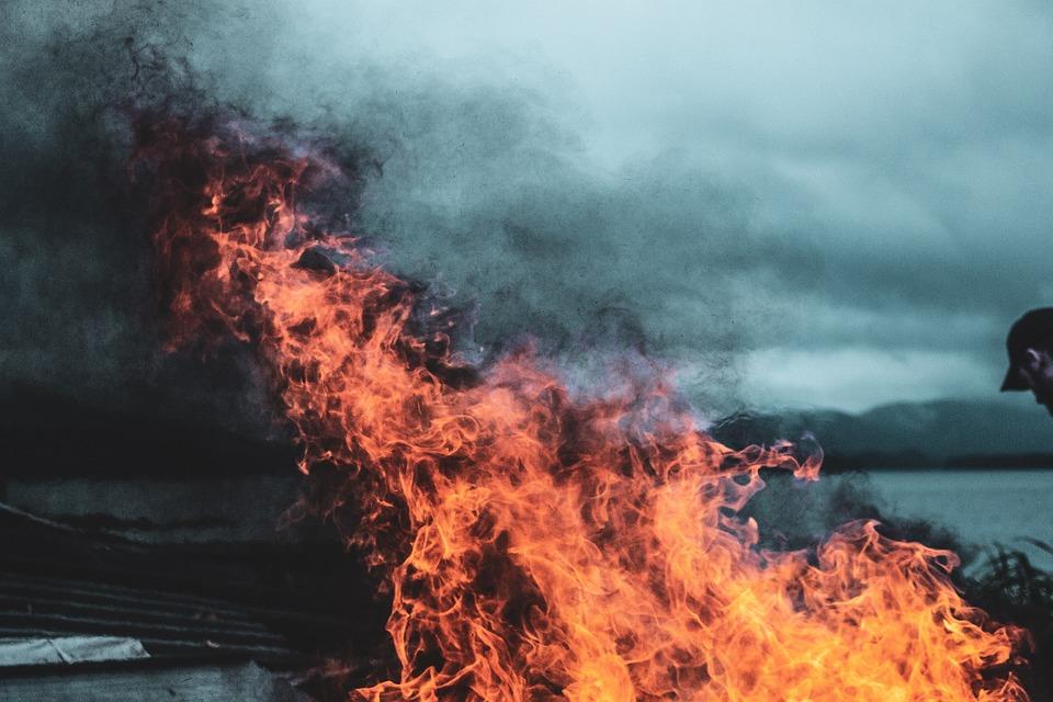 Fire, Flame, Burn, Heat, Hot, Glow, Campfire, Embers