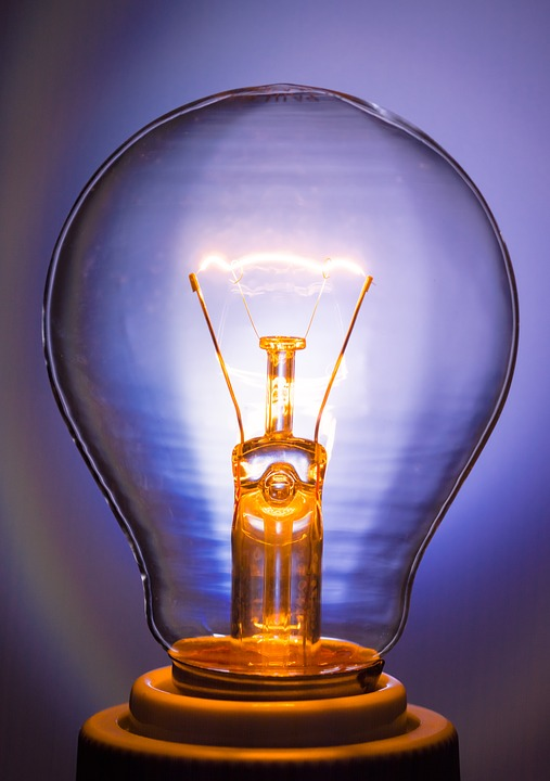 Light Bulb, Glow Lamp, Immediately, Tungsten