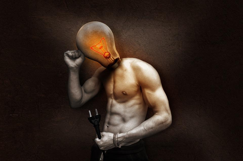 Light Bulb, Current, Light, Glow, Glow Lamp, Filament