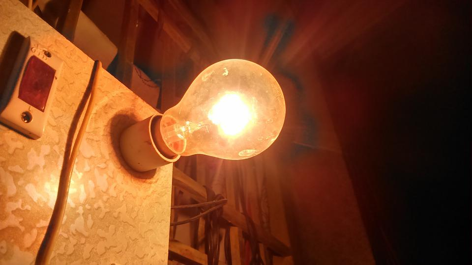Light, Lamp, Bulb, Light Bulbs, Old, Glowing, Glow