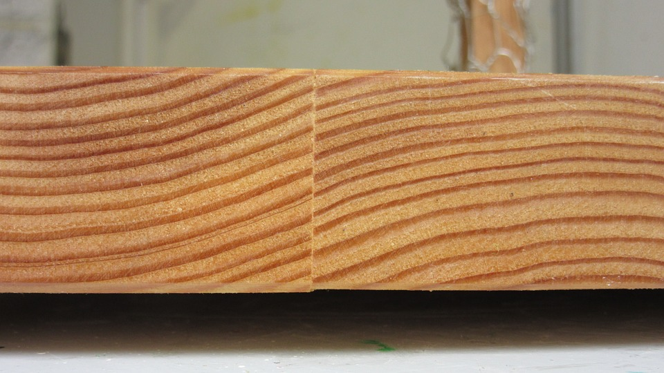 Larch, Board, Wood, Glued, Grain, Structure, Arches