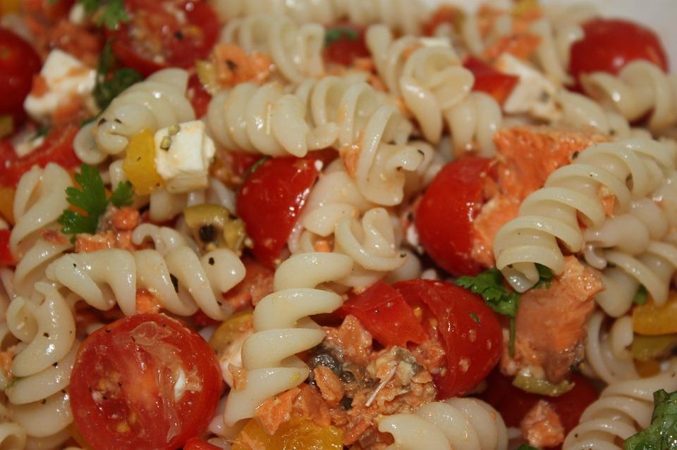 Healthy, Pasta, Salad, Gluten Free, Lunch, Snack