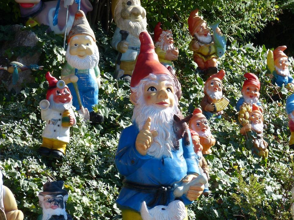 garden gnomes forest fairy tales funny gnome - Funny Garden Gnomes
