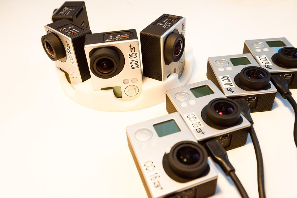Camera, Helmet Cameras, Go Pro, Recharge, Preparation