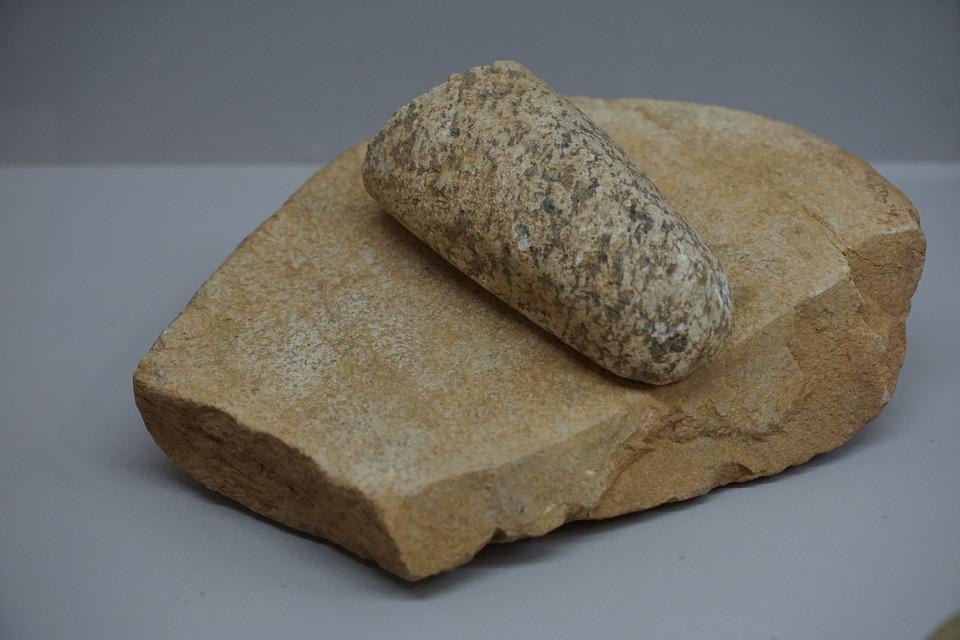 Neolithic, Go Stones, Go Edition, Acorn Processing