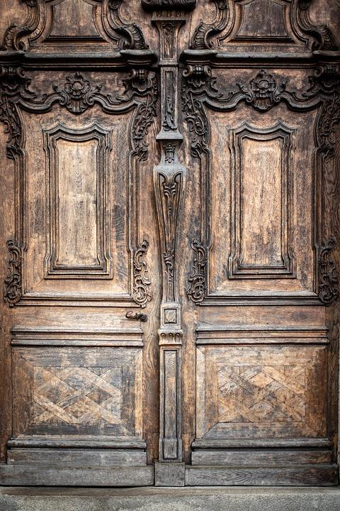 Door, Gate, Architecture, Goal, Church, Portal