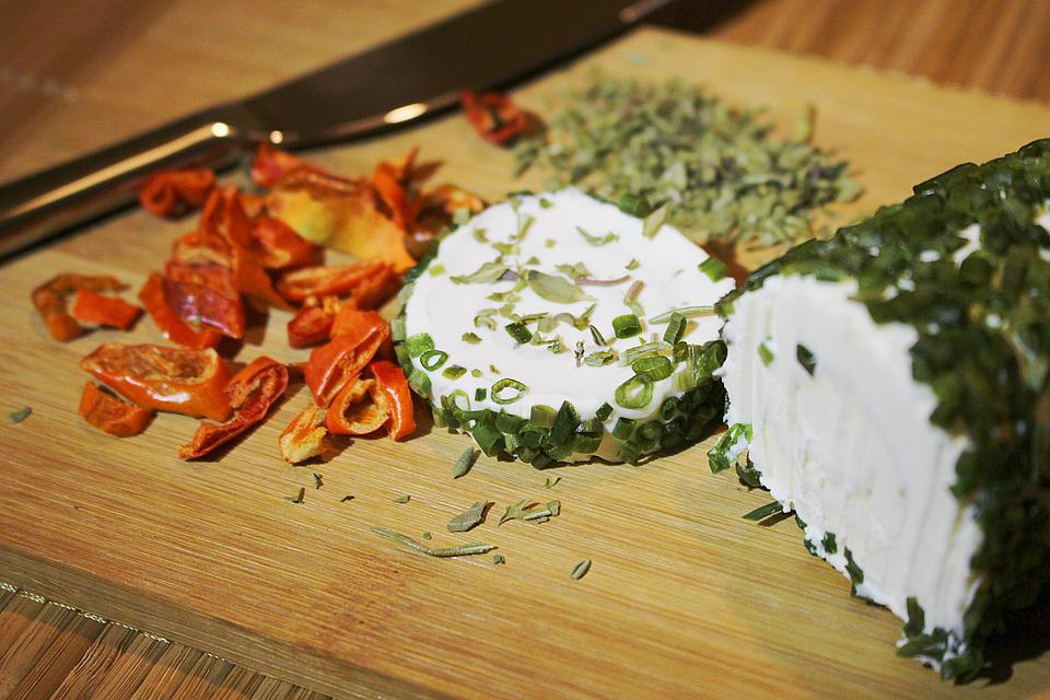 Herbs, Goat Cheese, Cream Cheese, Cheese Preparation