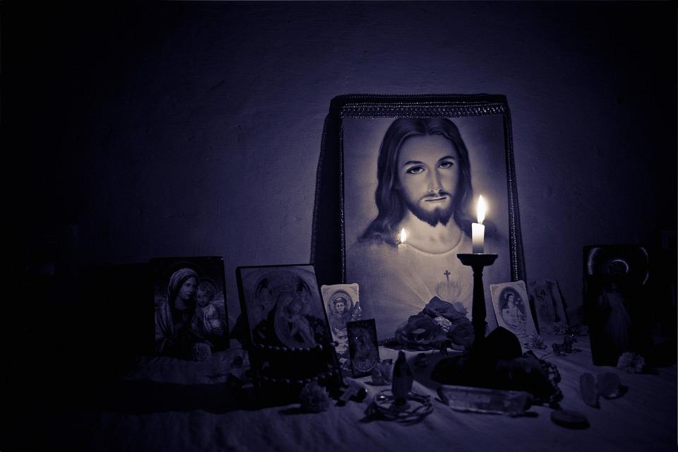 Jesus, Altar, Light, Faith, Holy, Christ, God