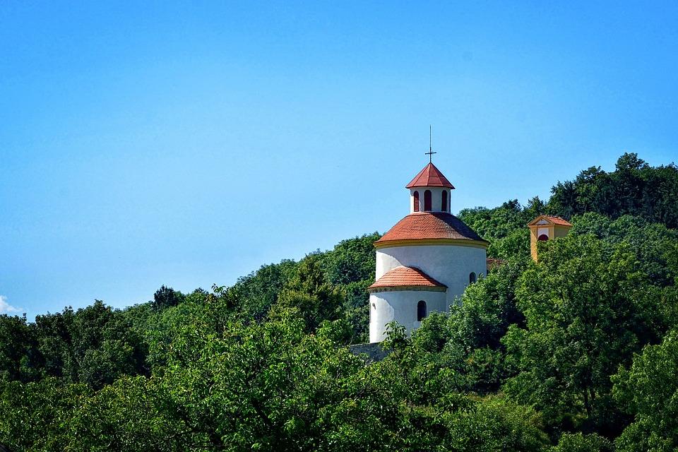 želkovice, Romanesque Rotunda, God, Church, Background