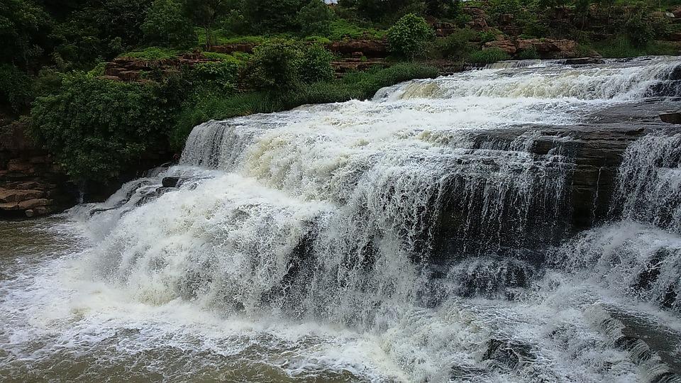 Cascades, Falls, Godachinamalki Falls, Water Fall