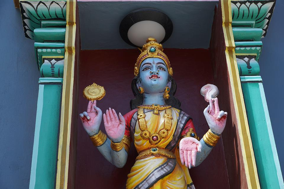 Temple, Goddess, Sculpture, Religion, Hinduism, Art