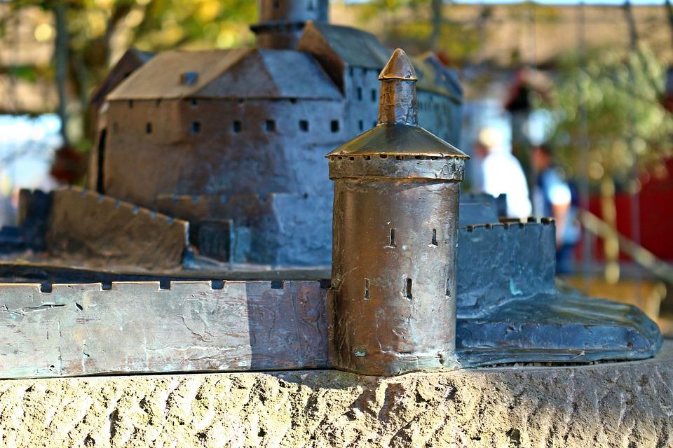 Godesburg, Model, Castle, Tower, Ruin, Burgruine, Bonn