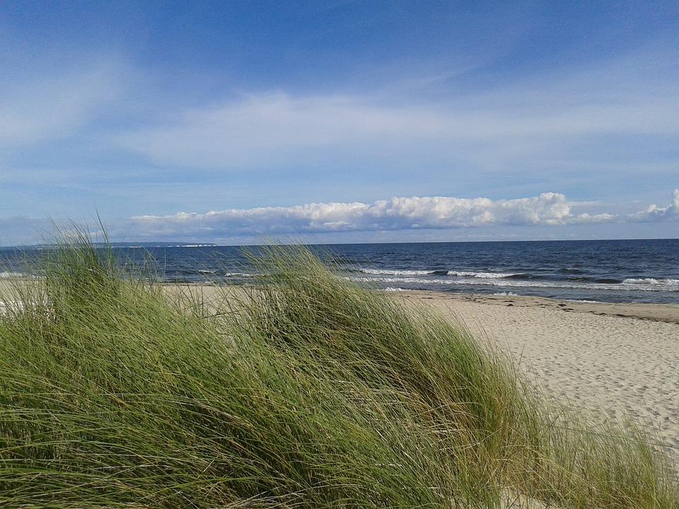 Baltic Sea, Beach, Rügen, Göhren
