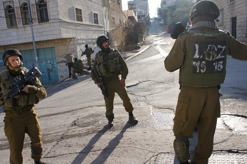 Gilbert Checkpoint, Soldiers, Hebron, Golani, Checking