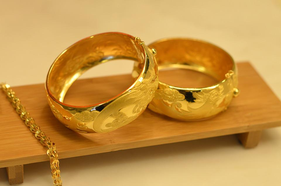 Wedding Gifts, Gold, Gold 鐲, Ring, Wedding Ring