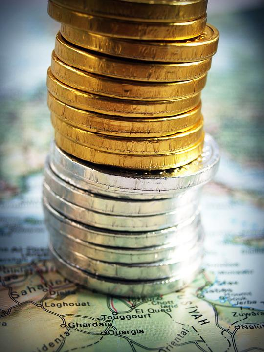 Free photo Gold Cash Coin Rate Tower Isolated Economy - Max Pixel