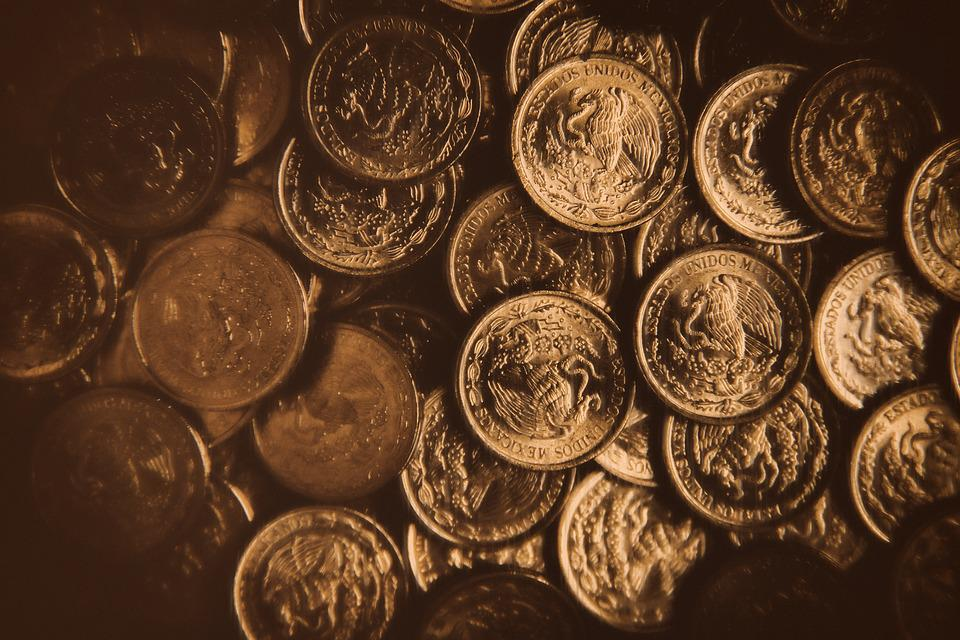 Money, Bank, Gold, Currency, Savings, Old, Cash, Coins