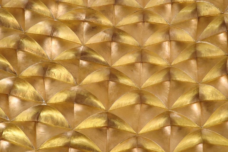Arabic, Gold, Pattern, Ornamental, Ethnic, Decor