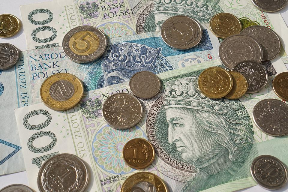 Buck, Gold, The Greenback, Euro Banknotes, Coin, Money