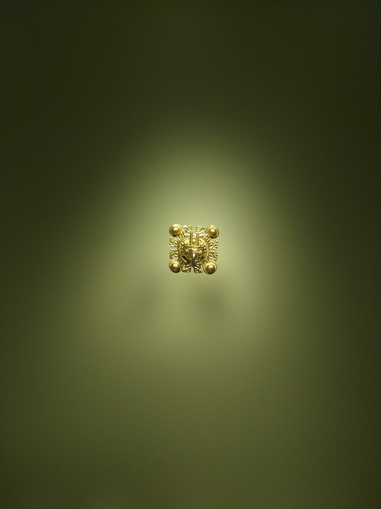Gold, Piece Of Gold, Gold Museum, Bogotá