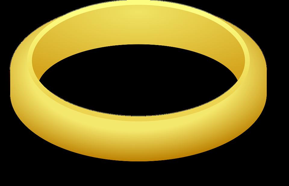 Ring, Wedding Ring, Gold