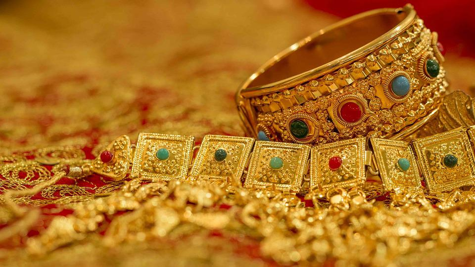 Free photo Gold Worth Jewelry Bahrain Wealth Bahraini Gold - Max Pixel
