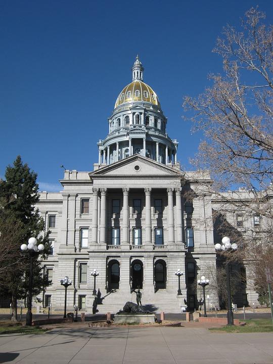Capitol, Dome, Golden, Denver, Colorado