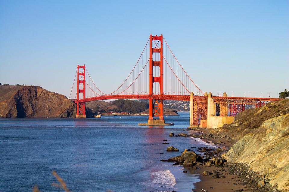 Golden Gate Bridge, San Francisco, California, Bridge