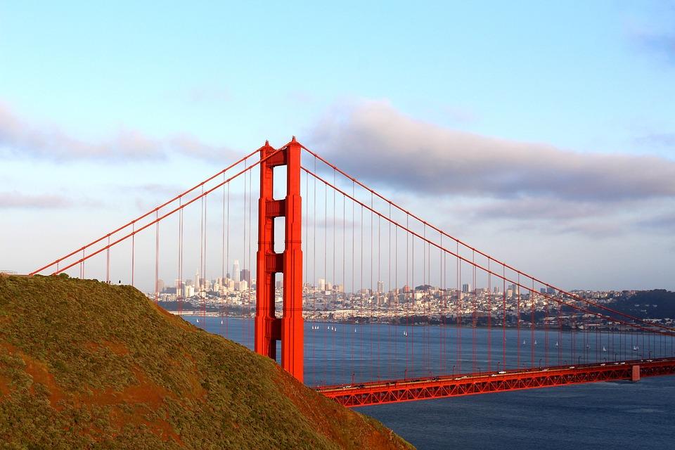 Free Photo Golden Gate Bridge California Ocean San