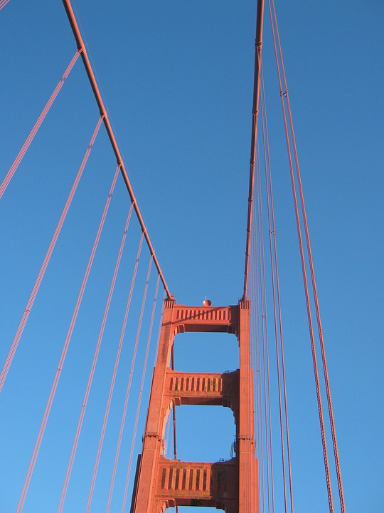 America, San Francisco, Golden Gate, Golden Gate Bridge